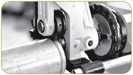 """Желобонакатчик гидравлический  с приводом YG12A+SQ50D (2""""-12"""")"""