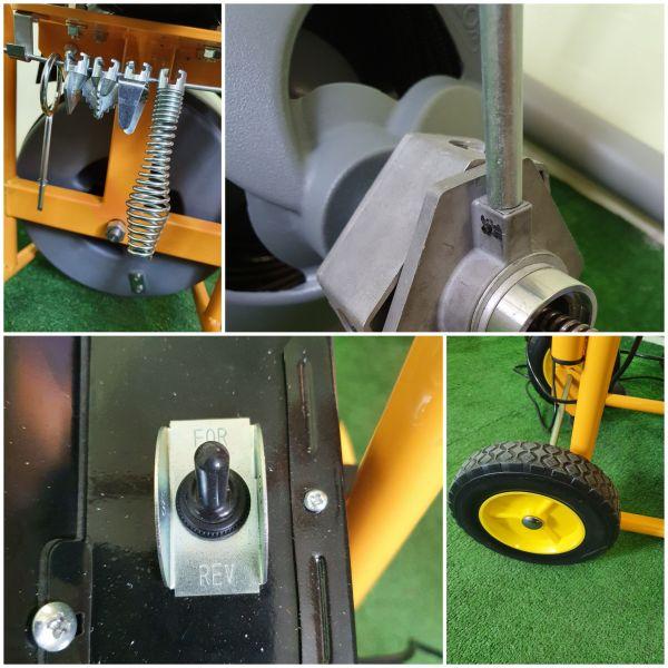 Прочистная машина электрическая AG100 (410 Вт)