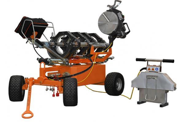 Гидравлическая машина для стыковой сварки RITMO DELTA 250 TRAILER