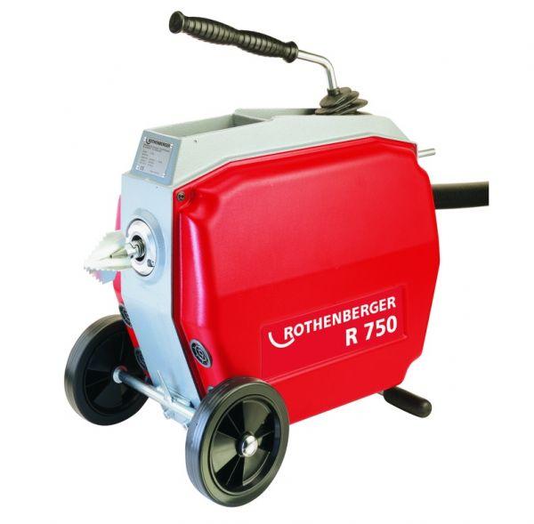 Электромеханическая прочистная машина R 750 72910 ROTHENBERGER