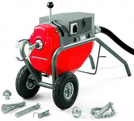 Электромеханическая прочистная машина R 80 72585 ROTHENBERGER