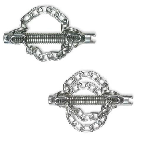Цепные насадки без кольца с гладкой цепью ROTHENBERGER (2 и 4 цепи)